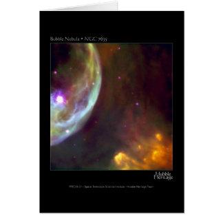 De Nevel van de bel - NGC 7635 Telescoop Hubble Kaart