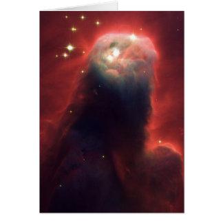 De Nevel van de kegel in ruimteNGC 2264 Briefkaarten 0