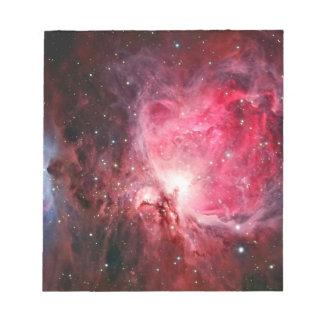 De nevel van Orion Notitieblok