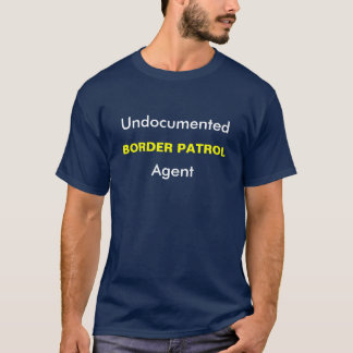 De niet gedocumenteerde, PATROUILLE van de GRENS, T Shirt