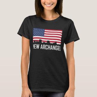 De nieuwe Amerikaanse Vlag van de Horizon van T Shirt