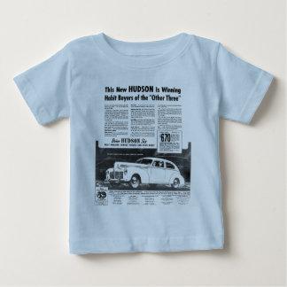 De nieuwe Auto HUDSON van 1940 Baby T Shirts