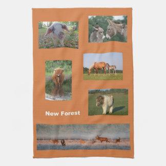 De nieuwe Boshanddoek van de dierenkeuken Theedoek