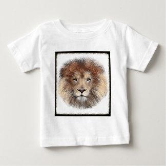 De nieuwe Druk van de Leeuw Baby T Shirts