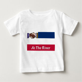 De nieuwe Mississippi v2 bij Rivier 2 Baby T Shirts