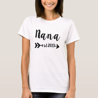 De Nieuwe Oma van Nana Established 2017 T Shirt