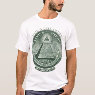 De nieuwe Orde Annuit Coeptis van de Wereld T Shirt