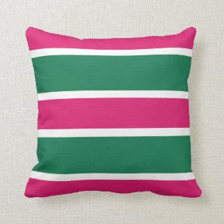De nieuwe Roze & Groene Vakantie van Kerstmis Sierkussen