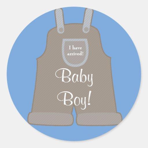 De nieuwe Sticker van de Jongen van het Baby