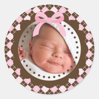 De nieuwe Sticker van het Baby