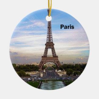 (De nieuwe) toren van Frankrijk Parijs Eiffel Rond Keramisch Ornament