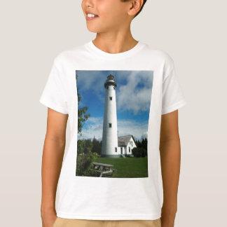 De nieuwe Vuurtoren van het Eiland Presque T Shirt