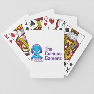 De nieuwsgierige Speelkaarten Gamers