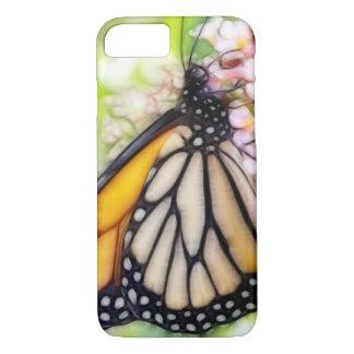 De Nippende Nectar van de Vlinder van de monarch iPhone 8/7 Hoesje