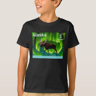 De noordelijke Amerikaanse elanden van Lichten - T Shirt