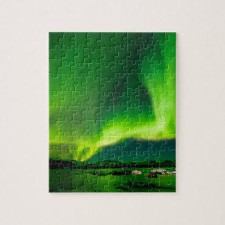 De Noordelijke Lichten van IJsland Legpuzzel