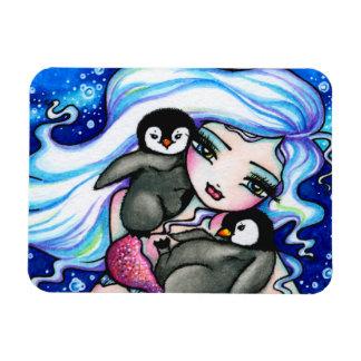 De noordpool Pinguïnen van het Baby van de Meermin Magneet