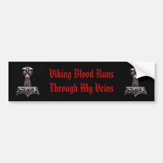 De noordse Sticker van de Bumper van de Trots