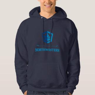 De noordwestelijke Trui Hoodie van de Bemanning