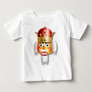 De nootachtige Cartoon van de Koning van de Baby T Shirts