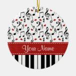De Nota van de muziek en het Ornament van de Piano