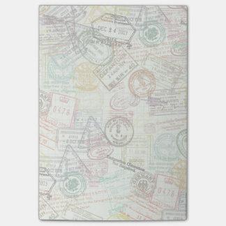 De Nota van de Post-it van de Druk van de Zegel Post-it® Notes