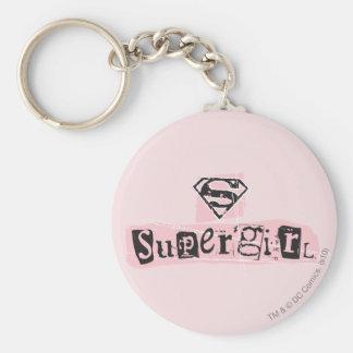 De Nota van het Losgeld van het Logo van Supergirl Sleutelhanger