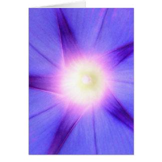 De notakaart van de Glorie van de ochtend Briefkaarten 0
