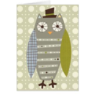 De notakaart van M. Owl Kaart