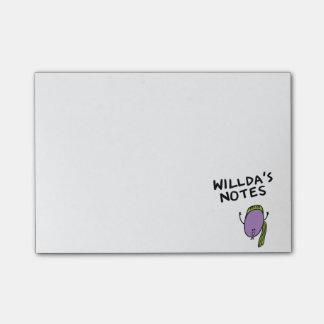 De Nota's Bloob van Willda Post-it® Notes