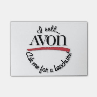 De nota's van de Post-it van Rep van Avon Post-it® Notes