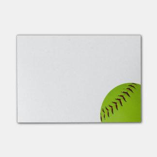 de nota's van de softballpost-it post-it® notes
