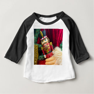 De Notekraker van Kerstmis Baby T Shirts
