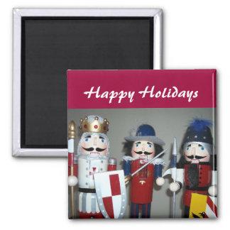 De Notekrakers van Kerstmis Vierkante Magneet