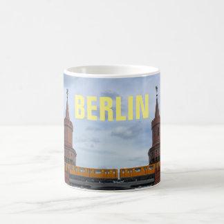 De Oberbaum Brug, BERLIJN Koffiemok