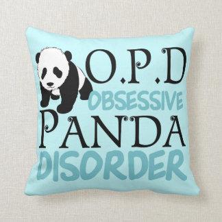 De obsessieve Wanorde van de Panda Sierkussen