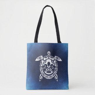 De oceaan Blauwe Schildpad van het Zee Draagtas