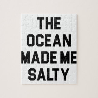 De oceaan maakte me Zout Puzzel