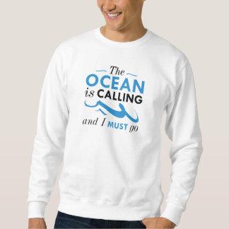 De oceaan roept trui