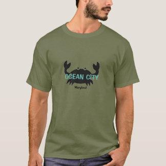 De oceaan T-shirt van de Krab van Maryland van de
