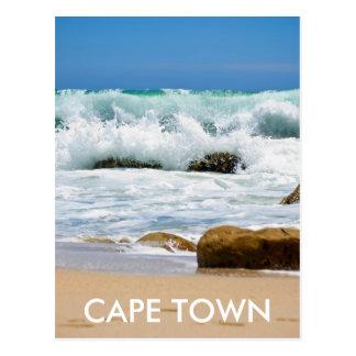 De Oceaan van de kaap, CAPE TOWN Briefkaart