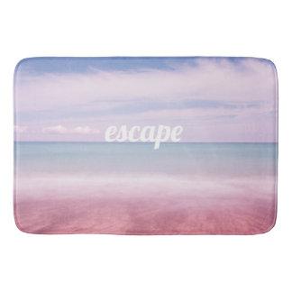 De oceaanbadmat van de vlucht, de horizon van het badmatten