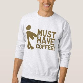 De Ochtend Java van de Verslaafden van de koffie Trui