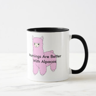 De ochtenden zijn Betere Alpaca Mok