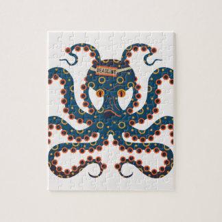 De octopus van de uiterste termijn puzzels