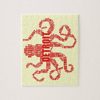 De Octopus van Detroit Puzzel