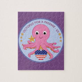 De Octopus van het Raadsel van het logo voor een Puzzel