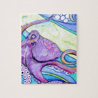 De Octopus van Surfin Legpuzzel