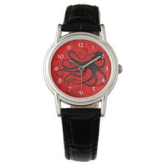 De Octopus van Sybille op Rood - het Horloge van