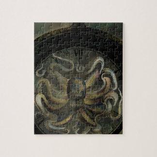 De octopus van Tijd Puzzel